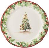 Southern Living Christmas Tree Salad Plate