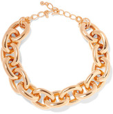 Kenneth Jay Lane Gold-plated Necklace - One size
