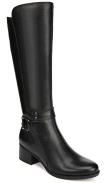 Naturalizer Dane Wide Calf Riding Boots Women's Shoes