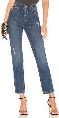 Anine Bing Peyton High Waist Skinny Jean