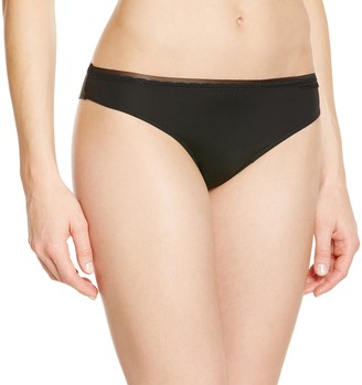 Emporio Armani Women's Sophisticated Microfiber Brasilian Brief