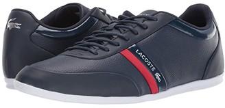 Lacoste Storda Sport 419 1 U (Navy/Red) Men's Shoes