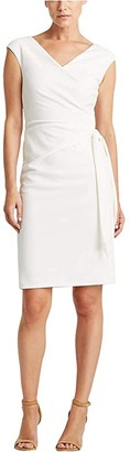 Lauren Ralph Lauren Cleonie Dress (Cream) Women's Dress
