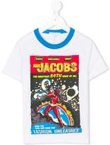 Little Marc Jacobs Comic Book print T-shirt