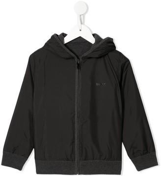Boss Kids Logo Hooded Jacket