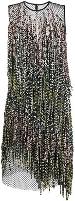 Christian Wijnants Printed Fringe Dress