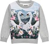 Molo Magine Swans Sweater