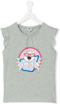 Karl Lagerfeld printed T-shirt - kids - Cotton/Spandex/Elastane - 14 yrs