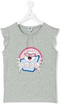 Karl Lagerfeld printed T-shirt - kids - Cotton/Spandex/Elastane - 14 yrs