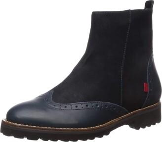 Marc Joseph New York Women's Leather Luxury EVA Lightweight Wingtip Boot Ankle