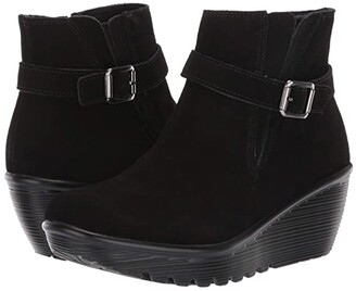 Skechers Parallel (Black/Black 1) Women's Boots