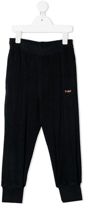 Tiny Cottons Embroidered Logo Track Pants