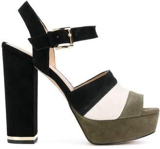 MICHAEL Michael Kors colour block platform sandals