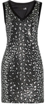 Love Moschino Sequined Satin Dress
