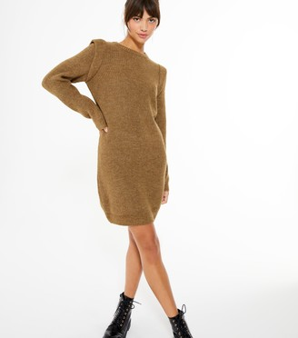 New Look Shoulder Trim Jumper Dress