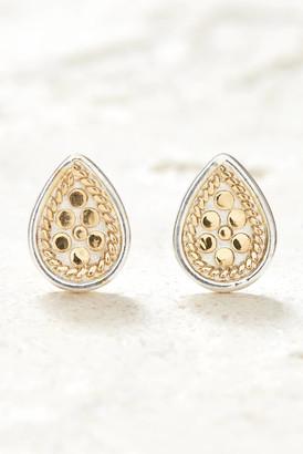 Anna Beck Gold Teardrop Stud Earrings Gold