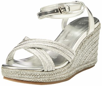 Ted Baker Women's Wfd-laelia-Metallic Espadrille Wedge Sandal