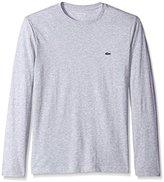 Lacoste Men's Long Sleeve Pima Jersey Crew Neck Tee Shirt