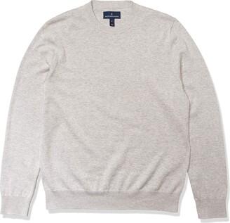Buttoned Down Amazon Brand Men's 100% Supima Cotton Crew Neck Sweater
