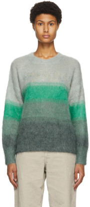 Etoile Isabel Marant Green and Grey Drussel Sweater