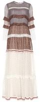 Chloé Printed Silk Chiffon Maxi Dress