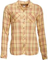 Converse Womens Workwear Button Down Checked Long Sleeve Shirt Mellow Multi