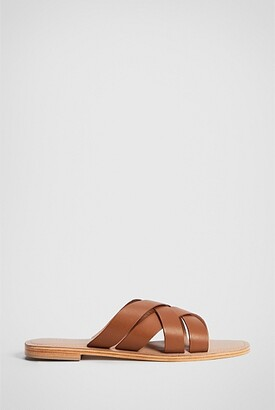 Witchery Emery Leather Slide
