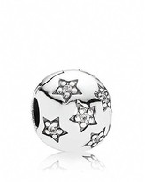 Pandora Clip - Sterling Silver and Cubic Zirconia Twinkle Twinkle, Moments Collection