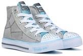 Skechers Kids' Twinkle Toes Shuffles Dazzle Dancer Sneaker Preschool