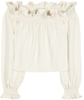 Diane von Furstenberg Georgie Off-the-shoulder Top