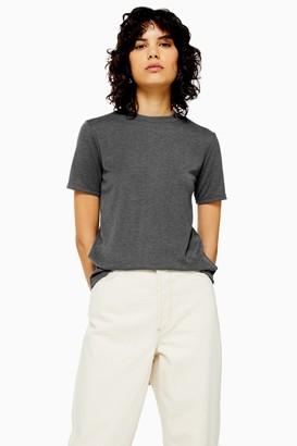 Topshop Grey Premium Clean T-Shirt