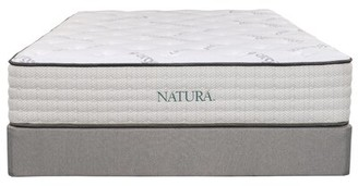 "Natura Spring Poplar 12"" Plush Innerspring Mattress Mattress Size: California King"