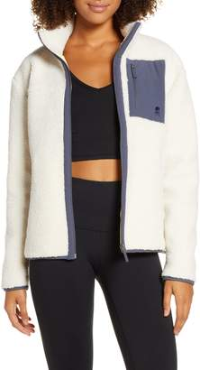 Soul by SoulCycle High Pile Fleece Jacket