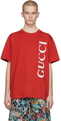 Gucci Red Oversized T-Shirt