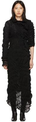 Comme des Garcons Black Mesh Rashel Long Dress