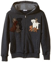 Dolce & Gabbana Patch Canine Family Hoodie (Big Kids)