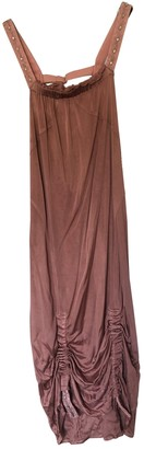Christian Dior Pink Silk Dress for Women Vintage