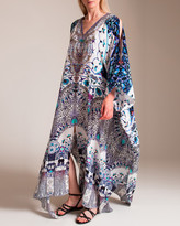 Camilla In the Constellations Split Front and Sleeve Kaftan