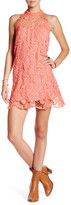Free People Lace Trapeze Dress