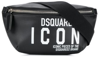 DSQUARED2 Icon print belt bag
