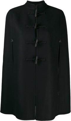 Saint Laurent Duffle Style Cape Coat