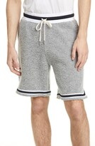 John Elliott Boucle Wool Blend Shorts