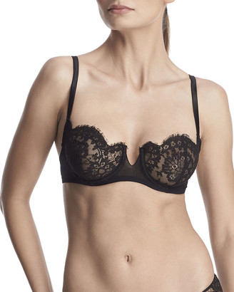 I.D. Sarrieri Madeline Unlined Lace Demi Bra