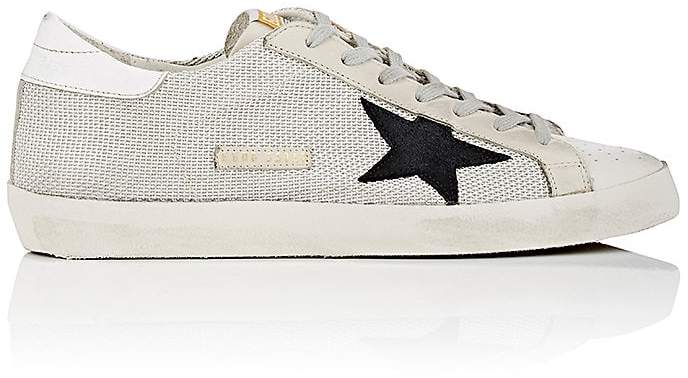 Golden Goose Men's Superstar Leather & Mesh Sneakers