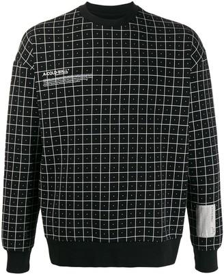 A-Cold-Wall* Grid Detail Sweatshirt