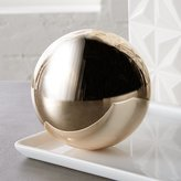CB2 Bubble Sphere Copper