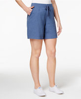 Karen Scott Pull-On Active Shorts, Only at Macy's