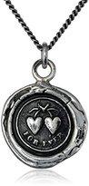 "Pyrrha talisman"" Hearts Necklace"