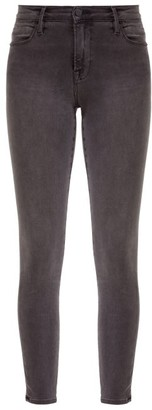 Frame Le High High-rise Skinny-leg Jeans - Grey