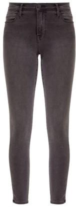 Frame Le High Skinny Jeans - Grey